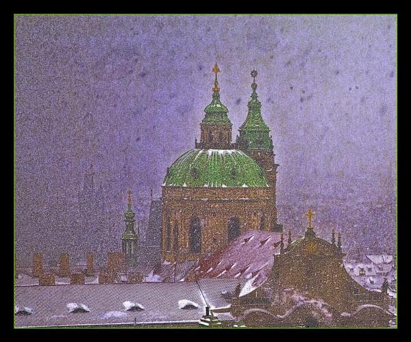 St. Nicholas in the snow by danbrann