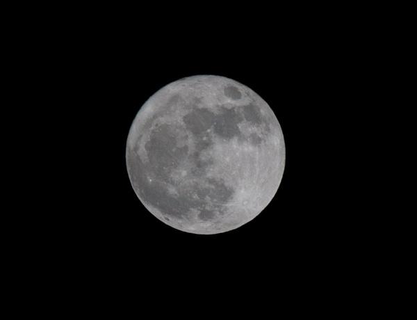 The Moon by Peteward