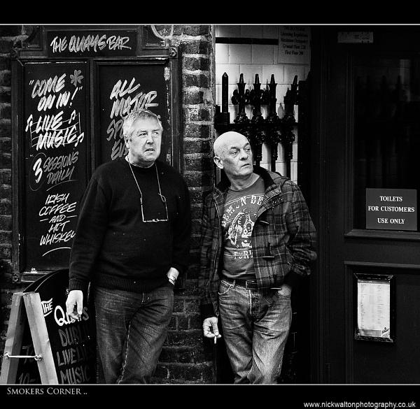 Smokers Corner by Nick_w