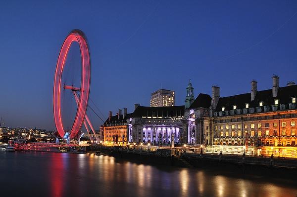 London Eye by arpad