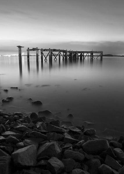 Aberdour Pier by TheFotoGraffer