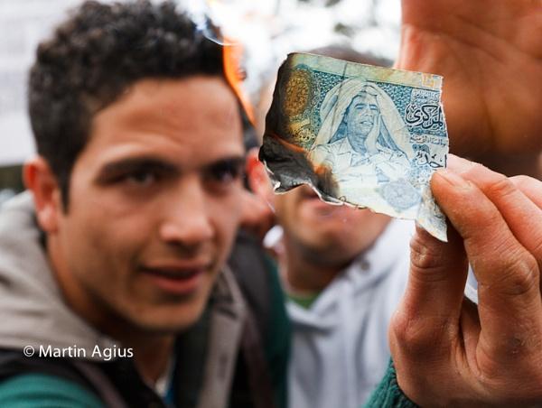 Libyan Protestors In Malta by MartinAgius