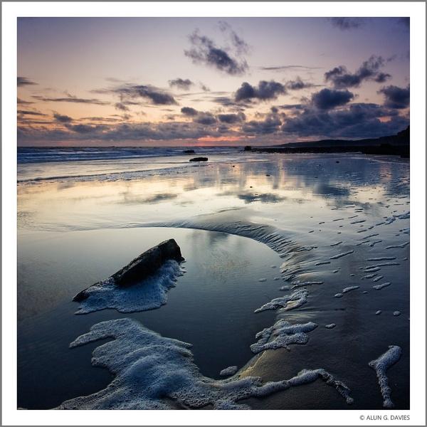Last Light at Traeth Mawr by Tynnwrlluniau
