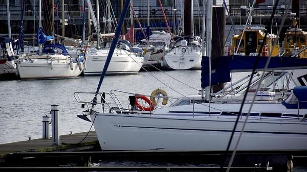 yachts in the docks by Rockhopper350