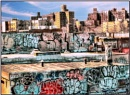 Painted Bronx of NY by starik39