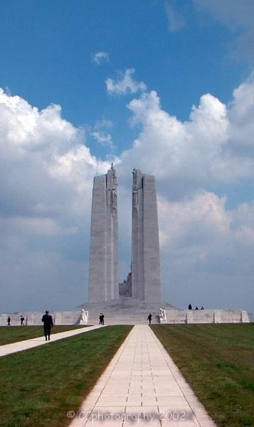 Canadian War Memorial, Vimy Ridge