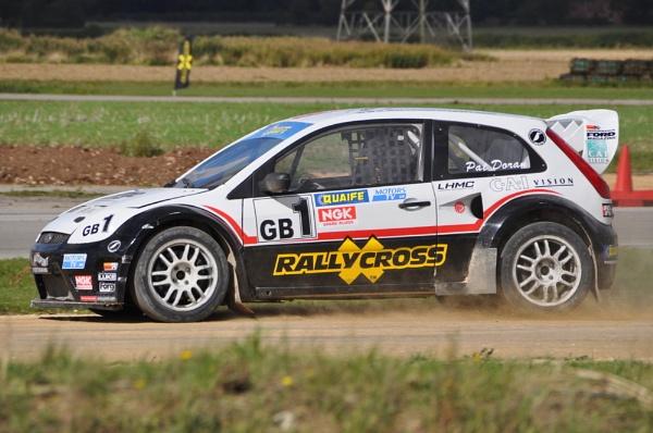 Pat Doran - British Rallycross Champion 2010 by Bryan_Marshall