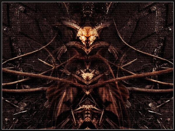 Demon Mural by Morpyre