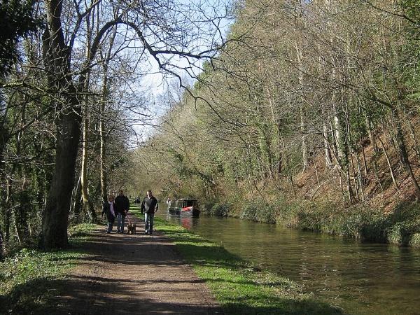 Canalside Walkers by Glostopcat