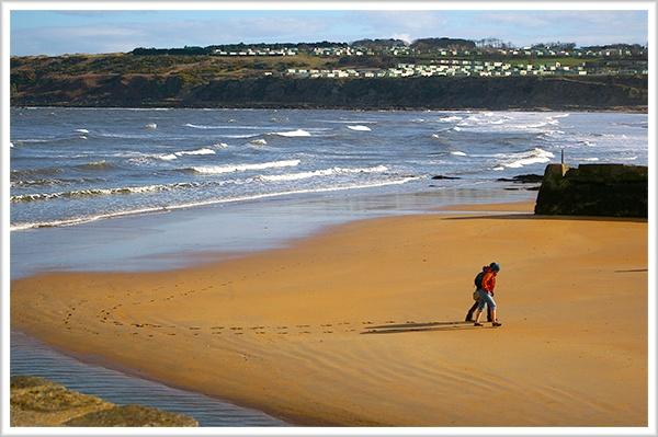 Beach Walkers by flatfoot471
