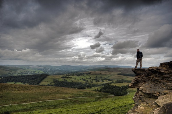 Stanage Edge by Plossl