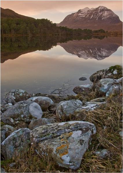 Loch Claire - Lathraich - Scotland by Bravdo