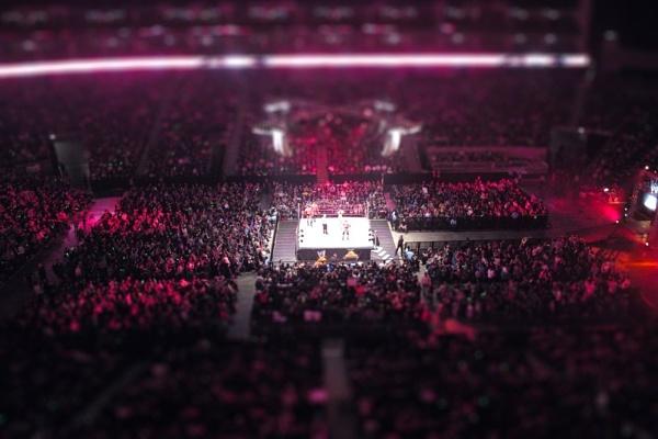 WWE @02 Arena by rickyhaughton