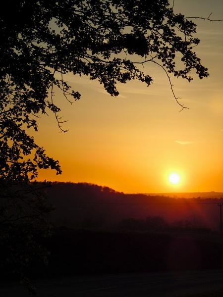 Amber Sunset by cyman1964uk