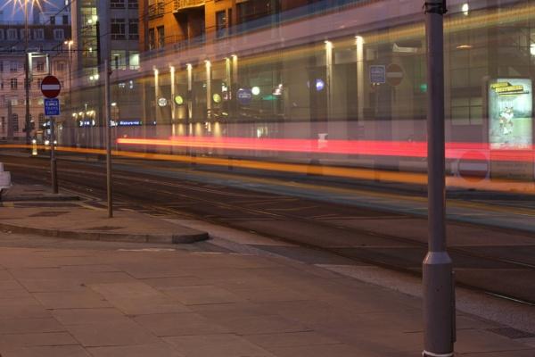 Manchester Tram by SteveBaz