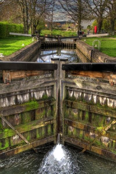 Ripon canal lock by Pontepineapple