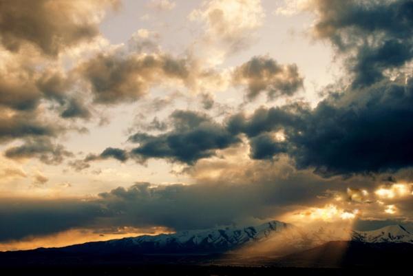 Sun Rays by BenNevis
