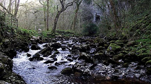 Ingleton Water falls. by Rockhopper350