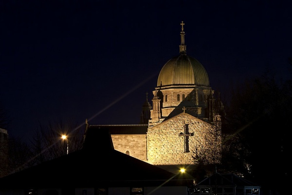Galway Cathedral by Night 2 by rogharrison
