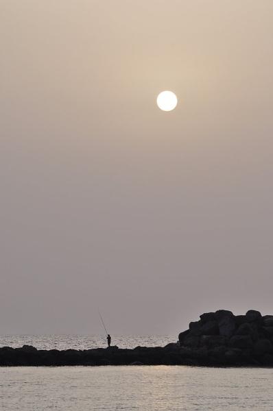 Sunset Fishing by caulfid2