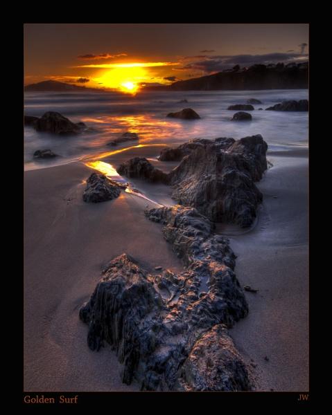 Golden Surf by jer