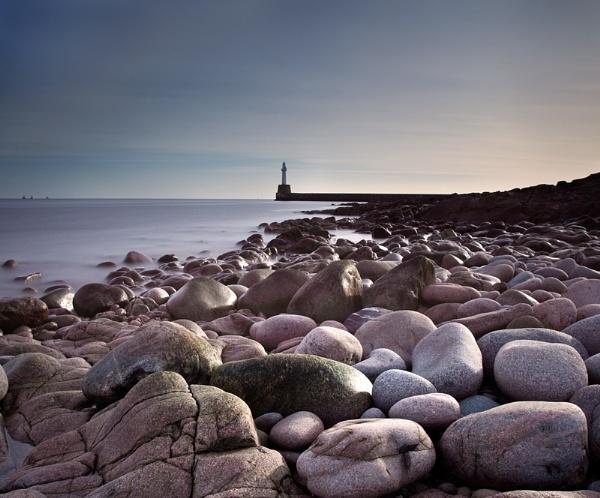Shoreline Rocks, Aberdeen by Mstphoto