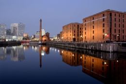 Liverpools Night Time Reflection