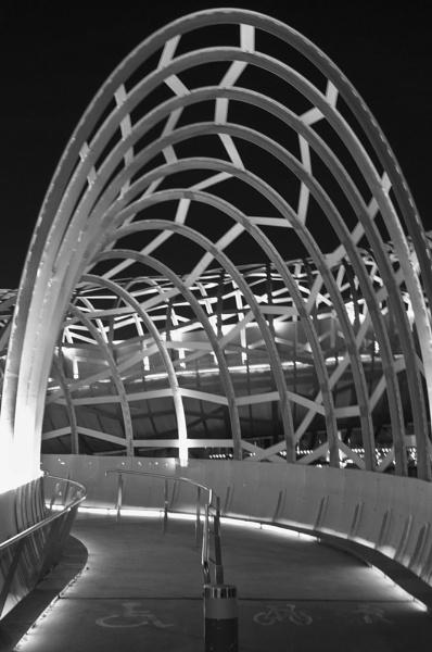 Lattice Bridge in Melbourne by redpuma