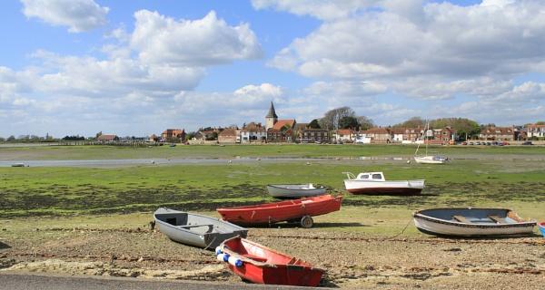 Boats at Bosham by roger65