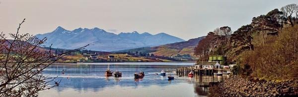 A southward view across Loch Portree by Sasanach