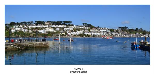 Fowey from Polruan. by rpba18205
