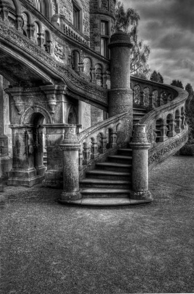 Gothic Stairway by JohnMeik