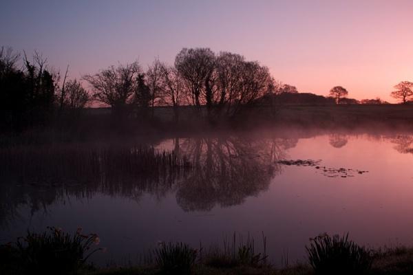 Sunrise reflections by marktc