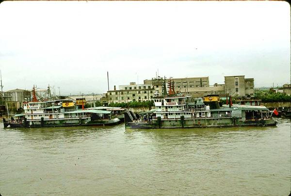 Old Ferryboats. by Carlkuntze