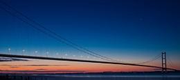 Humber Bridge at Dawn