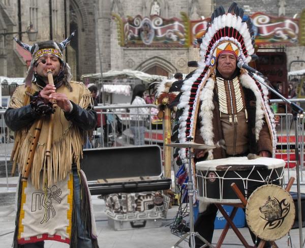 Tribal Music by gingerdelight