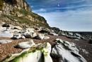 Hastings beach by Juliee
