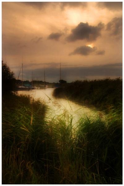 Misty Dawn by malleader