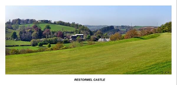 Restormel Castle Panorama. by rpba18205