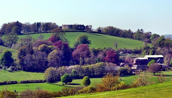 Restormel Castle Lanscape. by rpba18205