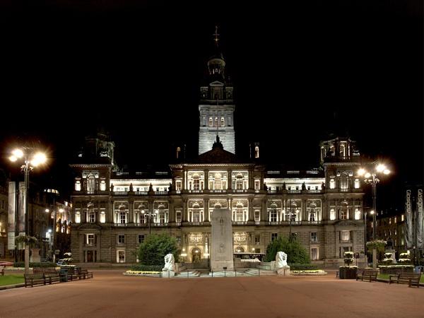 Glasgow City Chambers by Cammy