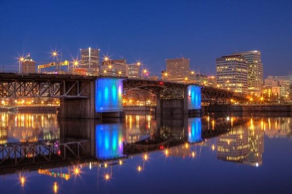 Portland, Oregon, @ dawn by paulvo