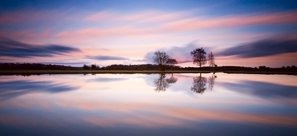 Fritham Pond by Paintman