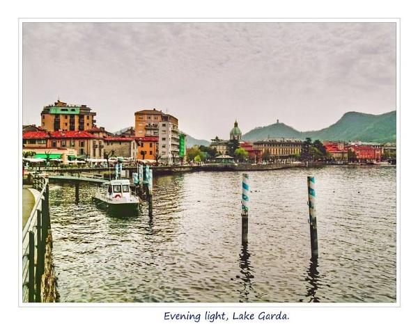 Evening Light, lake garda