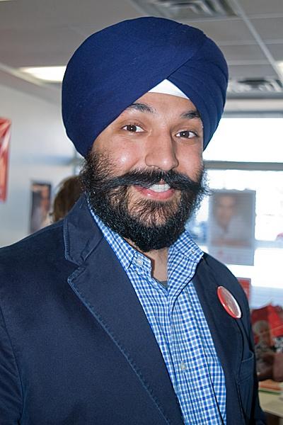 Navdeer Bains, MP for Brampton South - Mississauga by TimothyDMorton