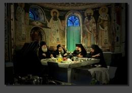 Eating Monks