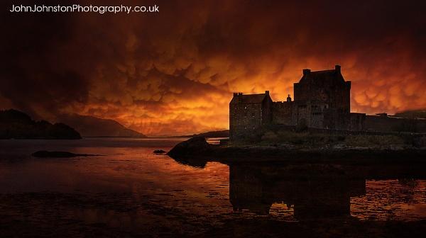 Eilean Donan Castle by JohnJohnstonPhotography