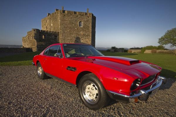 Aston Martin at Blackness Castle by NH_Snap