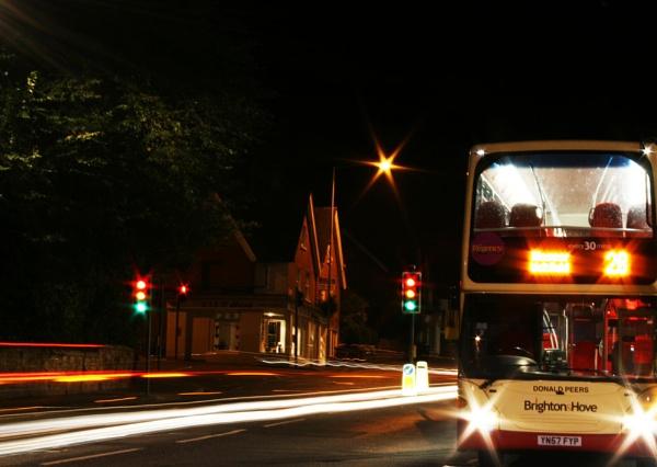Bus stop by Wonderman2010