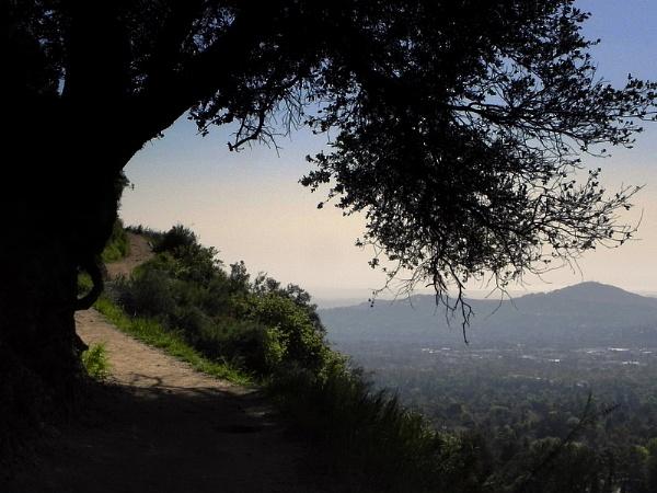 Hiking the Sam Merril trail by Aldo Panzieri
